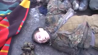 RUSSIAN WARCRIME Ukrainian POWs Executed By Russian Forces And DPR Militants - Video