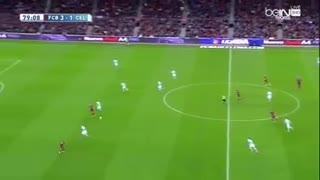 Neymar crazy skill vs Celta player - Video