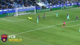 Gol de Neymar vs Eibar - Video