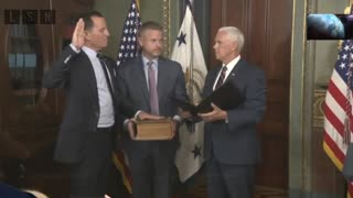 Mike Pence swears in Ric Grenell as German ambassador - Video