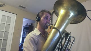 Tuba player flawlessly covers Jackson 5's 'I Want You Back' bassline - Video