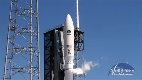 Launch of MUOS-5 satellite atop United Launch Alliance Atlas V rocket!