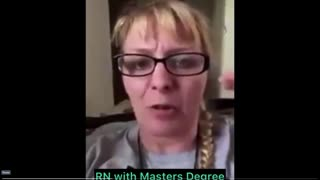 RN Nurse with master's degree gives her opinion on COVID