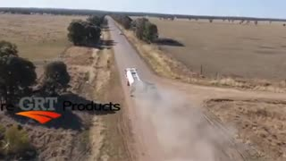 GRT Dust solutions - Before After Drone shot