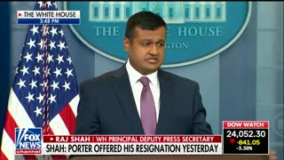 White House on Backing Rob Porter: 'We All Could Have Done Better' - Video