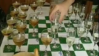 Quarantine Checkers Game With Wine