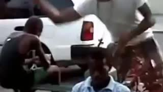 Poor Guy Getting Hit Wrongfully - Video