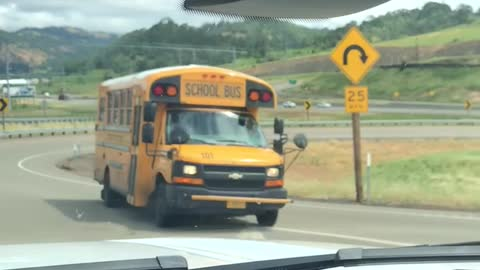 Bad Driving from the Bus Driver