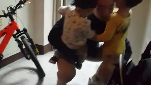 Watch Why This Father Loves Coming Home From Work
