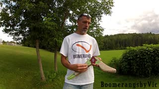 Real life 'Gale' boomerang from 'Legend of Zelda' - Video