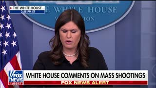 Sarah Sanders Asked About Gun Control After Kentucky Shooting 1 - Video