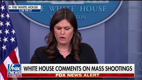 Sarah Sanders Asked About Gun Control After Kentucky Shooting 1