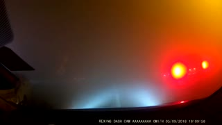 Fog Bank Causes Multiple Car Accident
