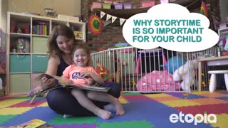Why storytime is so important for your child - Video