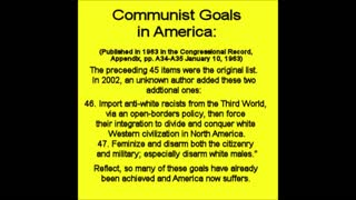The 45 Communist Goals in America