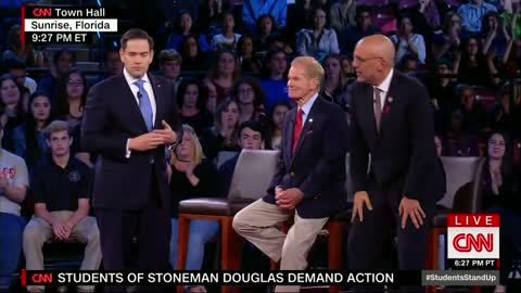 Julio: Sen. Rubio Gets FL Crowd to Admit They Want to Ban All Semi-Automatic Rifles