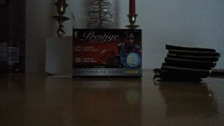 Panini Prestige 2012-13 box unpacking - Video