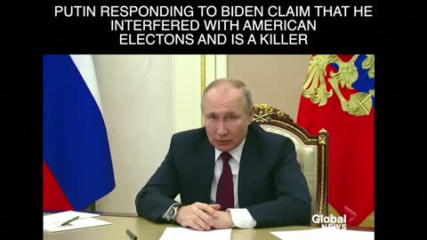 Putin suggests Biden is not in good health and interfered in American elections