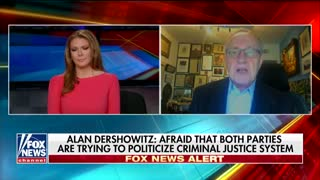 Alan Dershowitz Says His Legal Defense of Trump's Actions Are Him 'Standing Up for Principle' - Video