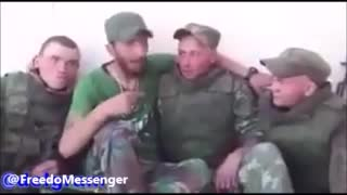 Russian soldiers learning Arabic in Syria - Video