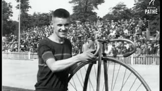 Bicycle racing in 1928 as he could - Video