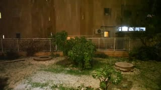 Snow fell in Jerusalem in 9/1/2013 - Video