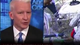 Anderson Cooper Tears Up While Discussing Haiti After Trump's 'S***hole' Remarks - Video