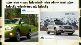 miami subaru dealership - Video