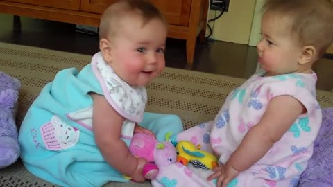 Sibling babies rivalry