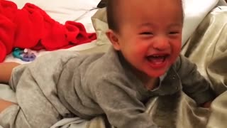 There's nothing quite like a baby's laugh.
