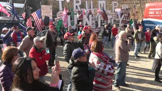 March For Trump Bus Tour in Pittsburgh, PA