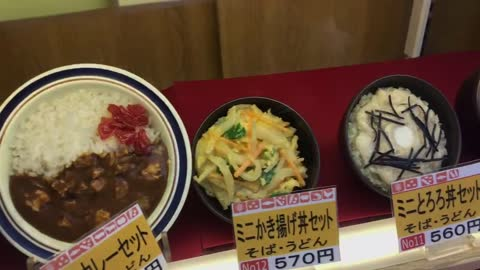 The menu is as sophisticated as the real food, vivid and beautiful. Only available in Japan