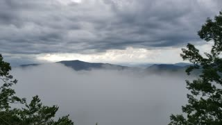 Time Lapse Clouds Pigeon Forge