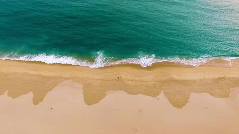 Drone view of the sea
