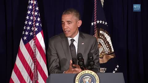 The President talks about immigration reform