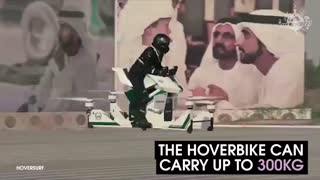 Dubai Police Will Be Patrolling In Style Using Hoverbikes - Video