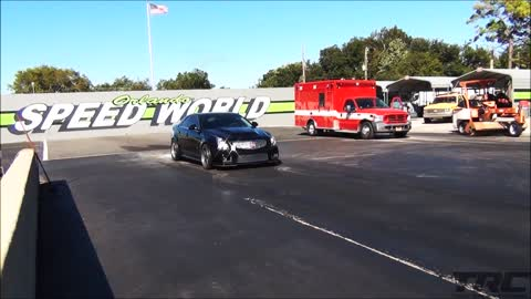 World's first 8 second Cadillac CTS-V!