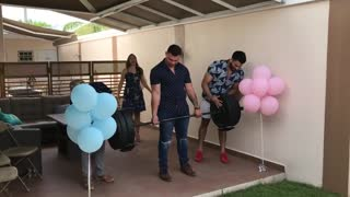 Power-Lift Gender Reveal