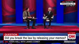 James Comey Denies Being A Leaker - Video
