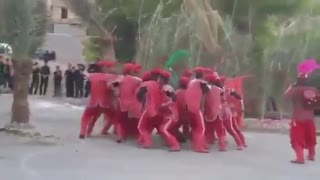Ashura rituals turned into chaos - Video