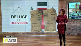 Couple Overwhelmed By Amazon Packages They Never Ordered - Video