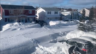 Massive Snowblowers for Massive Snowstorm