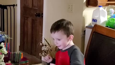 He finds YouTube videos of toys funny