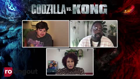 Brian Tyree Henry and Julian Dennison of the feature film Godzilla vs Kong