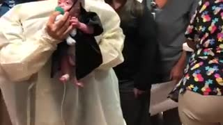 Baby Born At 22 Weeks 'Graduates' From Intensive Care - Video