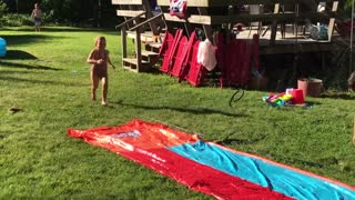 slip and slide  - Video