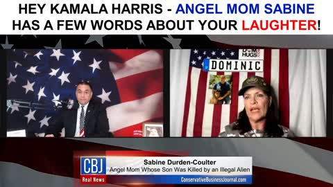 Angel Mom Sabine has a Few Words for Kamala Harris