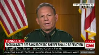 Broward County Sheriff Says He Will Not Resign - Video