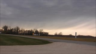 25 Min Storm Rolls Through In 3 Min - Video
