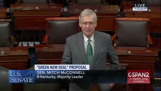 Mitch McConnell Unloads On the Green New Deal